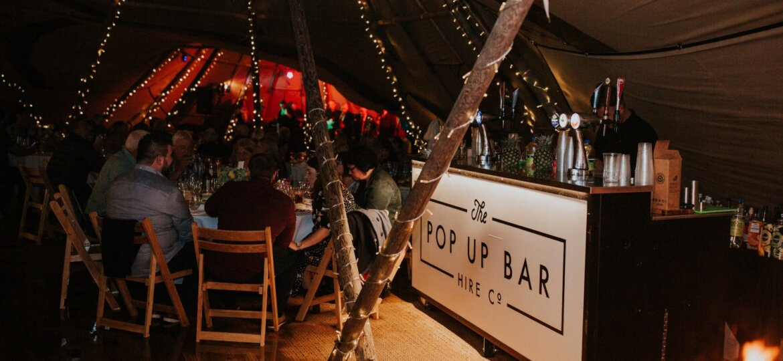 pop up bar fire